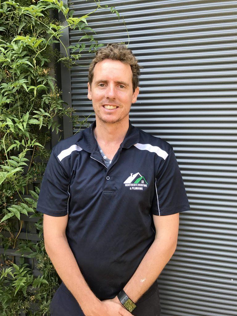 Daniel Flanagan Owner and operator of Belmont Roof Plumbing, Geelong