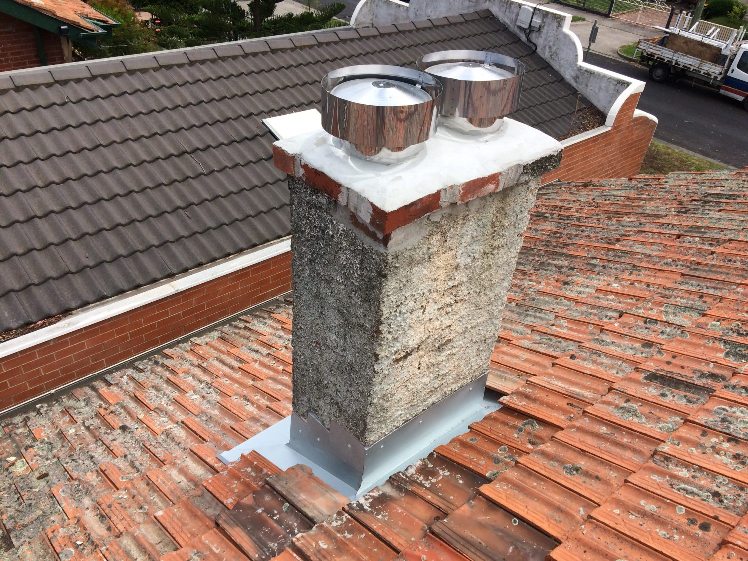 Chimney Flashing Replacement East Geelong Belmont Roof