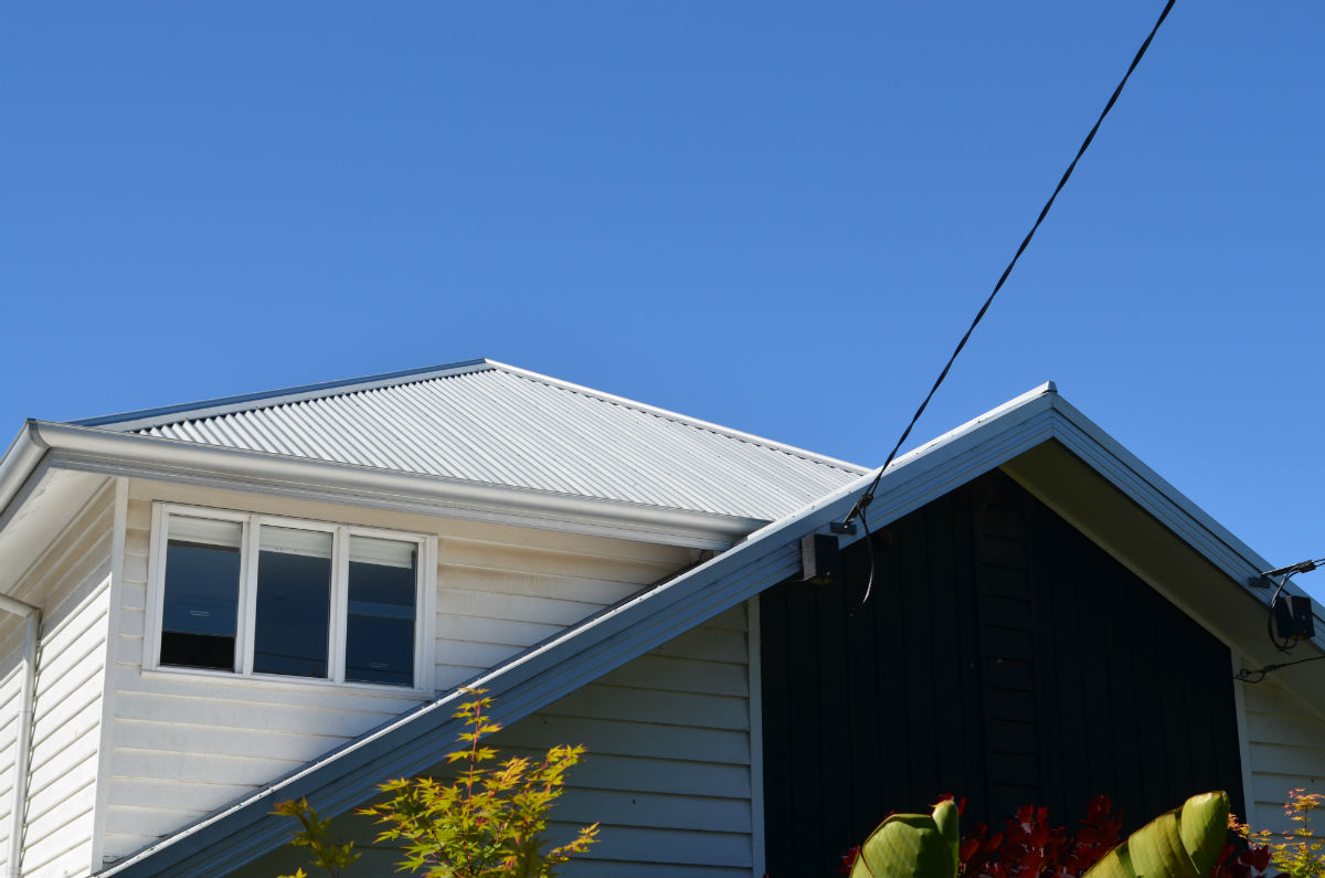Roof leak Repair with Metal Fascia Cover, Geelong