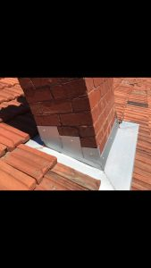 Chimney Flashing replacement